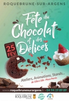 FÊTE DU CHOCOLAT ET DES DÉLICES À ROQUEBRUNE-SUR-ARGENS LE 25 FÉVRIER 2018 ROQUEBRUNE SUR ARGENS
