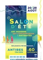 SALON D'ÉTÉ - ART MODERNE, ART CONTEMPORAIN, ANTIQUITÉS ET BROCANTE ANTIBES JUAN LES PINS