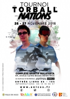 TOURNOI INTERNATIONAL DES NATIONS DE TORBALL FÉMININ ET MASCULIN NICE