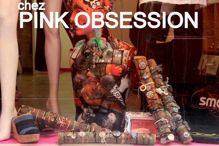 Pink Obsession dans le Vieux Nice