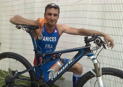 Benjamin Landier (ANICES) Champion du Monde de Duathlon !