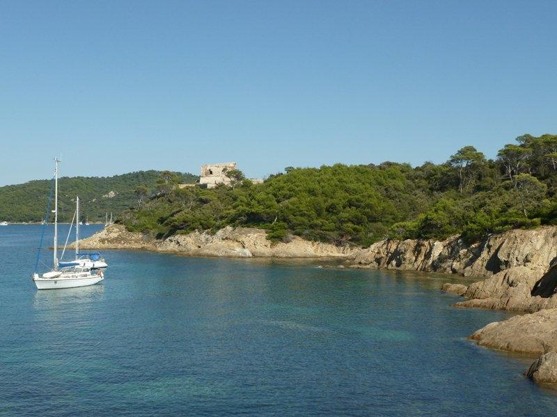 Escapade Change Of Scenery At PortCros - Location port cros