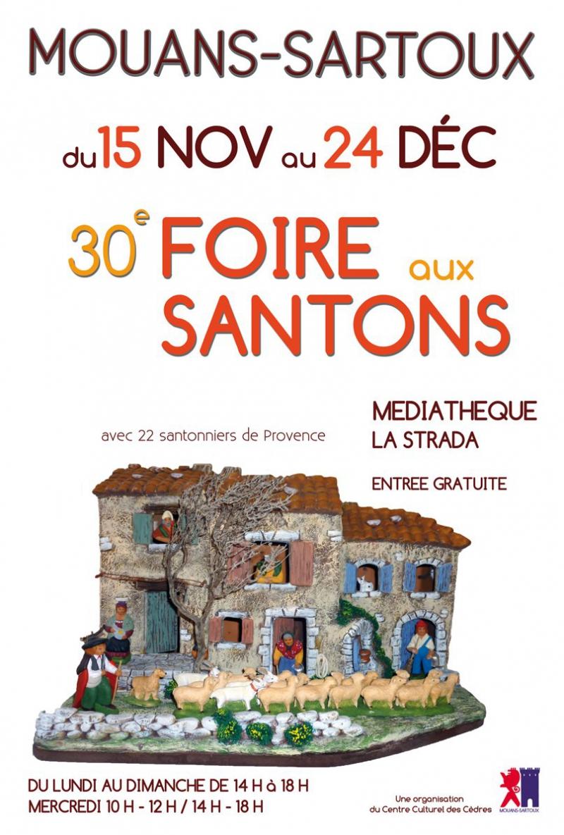 Les villes de la Côte d'Azur fêtent Noël - Foires aux Santons et Crèches de Noël