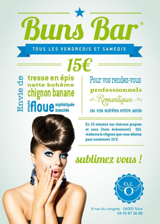 Le premier Buns Bar sur Nice