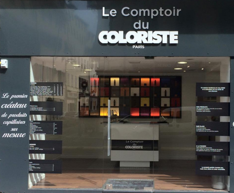 le comptoir du coloriste. Black Bedroom Furniture Sets. Home Design Ideas
