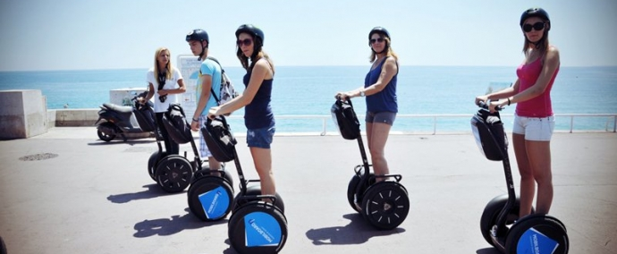 photo Explore Nice in a Segway