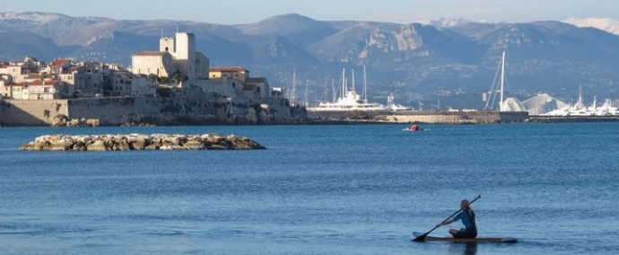 photo Paddling in Antibes