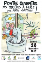 Portes Ouvertes des Moulins à huile des Alpes-Maritimes