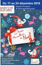 Animations, festivités, marchés de Noël de la Côte d'Azur