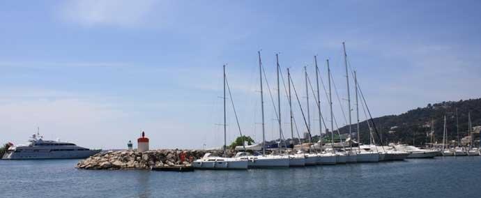port public, port de plaisance à golfe-juan