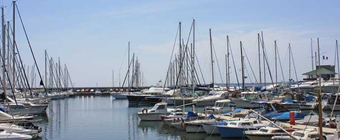 port public, marina at golfe-juan