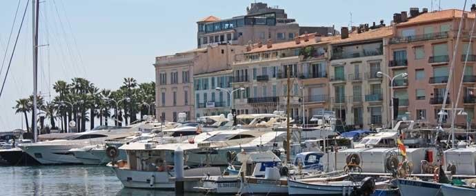 port vieux port, port de plaisance   cannes