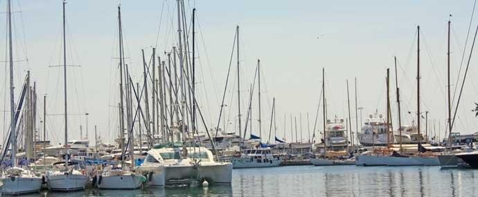 port vieux port, port de plaisance à cannes
