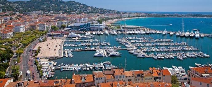 port vieux port, port de plaisance a cannes