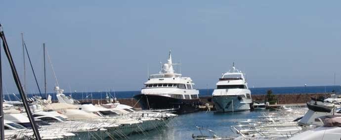 port de la napoule, port de plaisance à mandelieu-la-napoule
