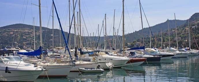 port de la rague, port de plaisance in mandelieu-la-napoule