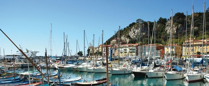 port lympia, port de plaisance   nice
