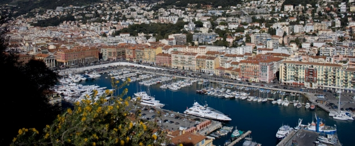 port lympia, port de plaisance a nice