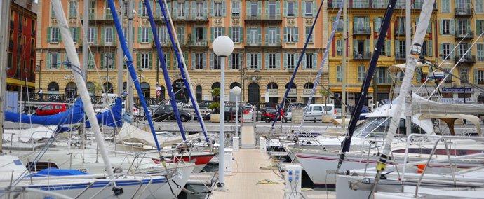port lympia, port de plaisance   nice