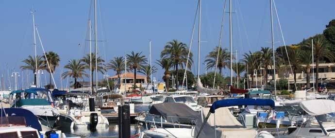 port public, port de plaisance à cavalaire-sur-mer