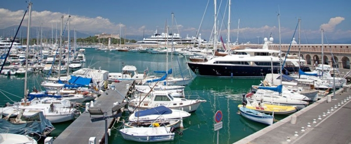 port vauban, marina at antibes juan-les-pins