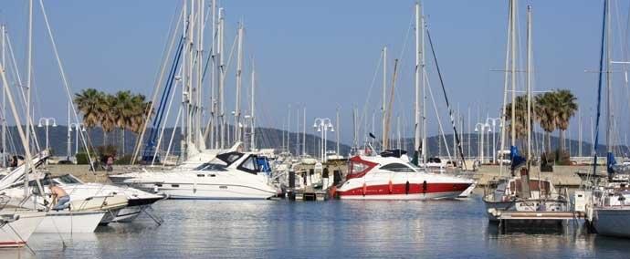 port privé, port de plaisance in cavalaire-sur-mer