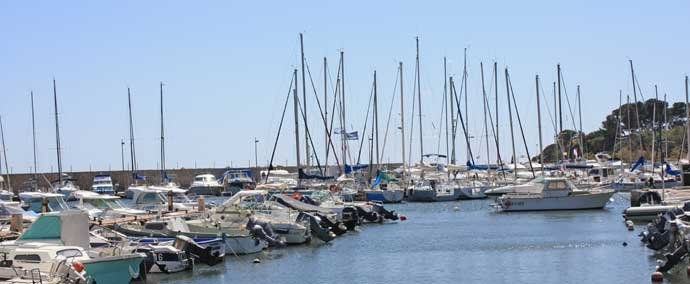 port des salettes, marina at carqueiranne