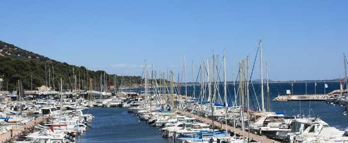 port des salettes, port de plaisance in carqueiranne