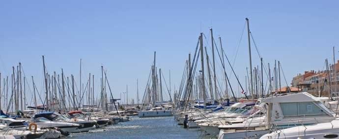 port saint pierre, port de plaisance à hyères-les-palmiers