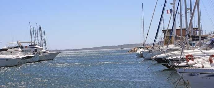 port saint pierre, port de plaisance a hyères-les-palmiers