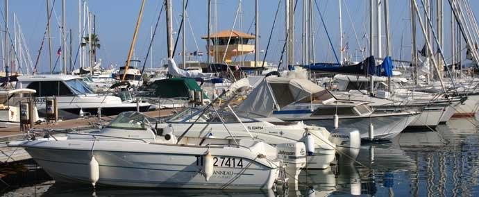 port de plaisance, marina at le lavandou