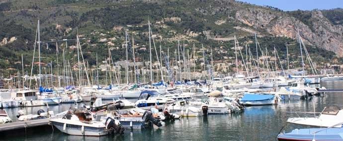 port vieux port, port de plaisance à menton