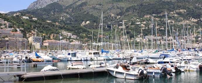 port vieux port, port de plaisance a menton