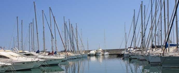 port de garavan, port de plaisance à menton