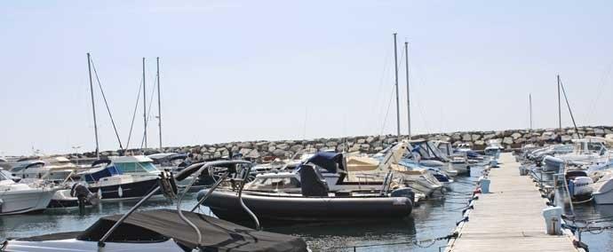 port de san peïre, port de plaisance à les issambres