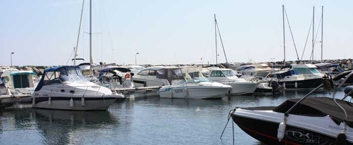 port de san peпre, port de plaisance   les issambres