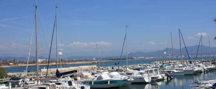 port de plaisance, marina at saint-aygulf