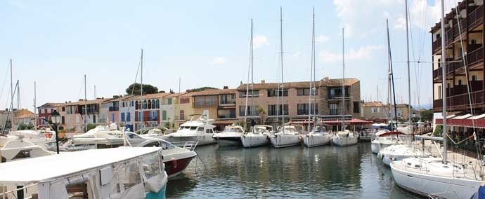 port grimaud, marina at port-grimaud