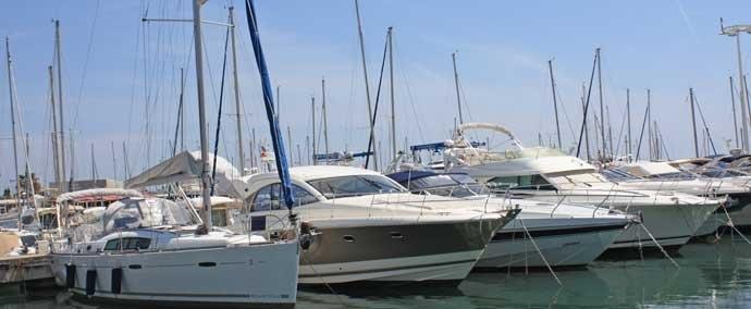 port camille rayon, port de plaisance à golfe-juan