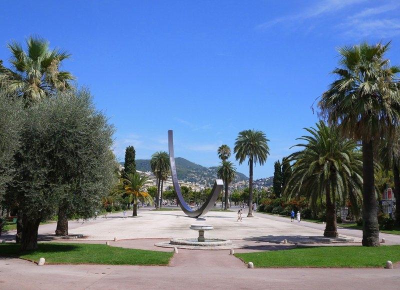 Jardin Albert 1er  Tourisme Nice