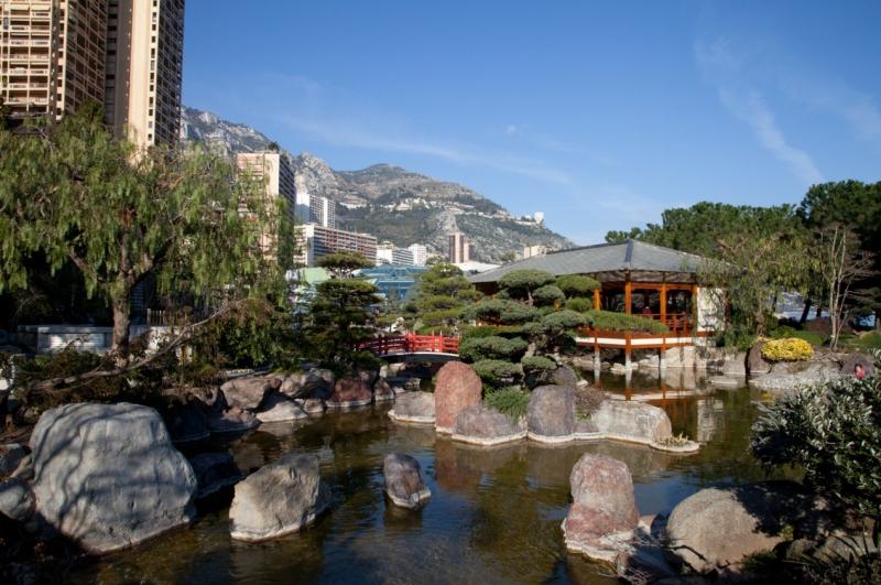 Le jardin japonais tourisme monaco for Jardin japonais monaco