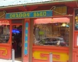 le dragon bleu