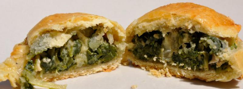 barbajuans (sort of chard fritters)