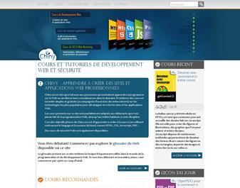 Chiny: cours de programmation et développement Web