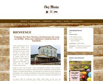 Restaurant Chez Marius – Spécialités Niçoises