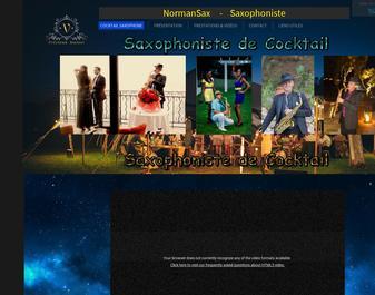Un Saxophoniste pour votre Cocktail