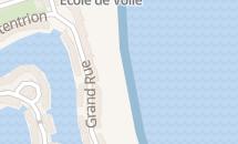 Grande plage de Port-Grimaud