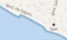 Plage de Gigaro