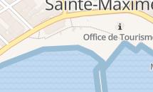 Plage du centre-ville de Sainte-Maxime