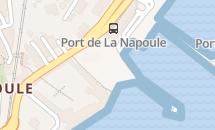 Plage du port de La Napoule